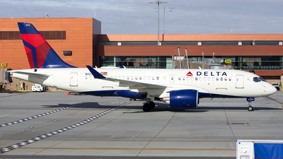 A picture of N127DU - Airbus A220100 - Delta Air Lines - © Michael Rodeback