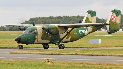 0204 - PZL-Mielec M-28TD Bryza - Poland - Air Force