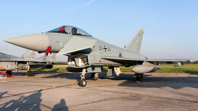 30-61 - Eurofighter Typhoon EF2000 - Germany - Air Force