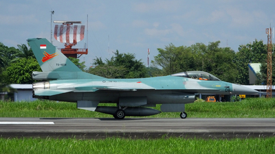 TS-1608 - General Dynamics F-16A Fighting Falcon - Indonesia - Air Force