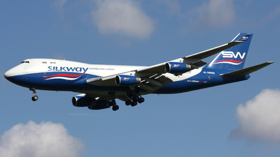 4K-SW888 - Boeing 747-4R7F(SCD) - Silk Way Airlines