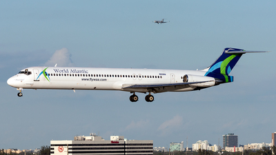 N802WA - McDonnell Douglas MD-83 - World Atlantic Airlines