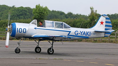 G-YAKI - Yakovlev Yak-52 - Private
