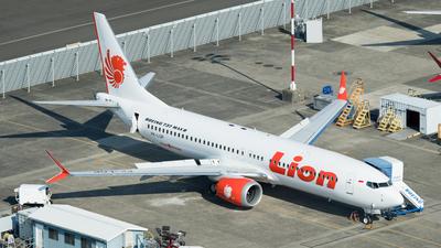 PK-LQP - Boeing 737-8 MAX - Lion Air