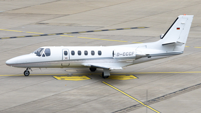 D-CCCF - Cessna 550 Citation II - Private
