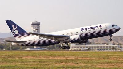 G-BYAB - Boeing 767-204(ER) - Britannia Airways