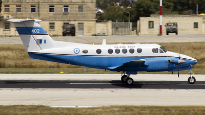 402 - Beechcraft C-12R Huron - Greece - Army