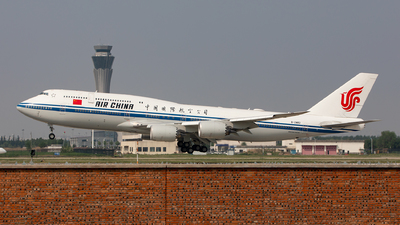 A picture of B2482 - Boeing 74789L - Air China - © 洛天依