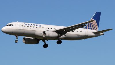 N435UA - Airbus A320-232 - United Airlines