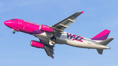 HA-LWQ - Airbus A320-232 - Wizz Air