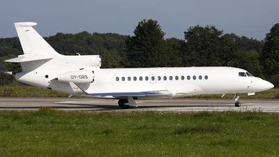OY-DBS - Dassault Falcon 8X - Private