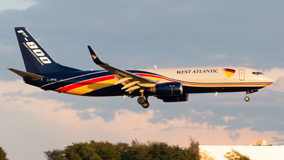 G-NPTA - Boeing 737-86N(BCF) - West Atlantic Airlines