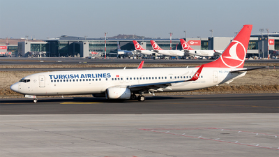 A picture of TCJYH - Boeing 7379F2(ER) - Turkish Airlines - © Ömür Sadikoglu
