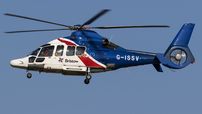 G-ISSV - Eurocopter EC 155B1 Dauphin - Bristow Helicopters