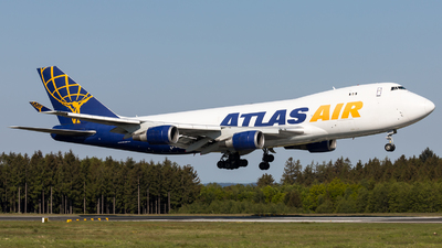 A picture of N493MC - Boeing 74747U(F) - Atlas Air - © Moritz Klöckner