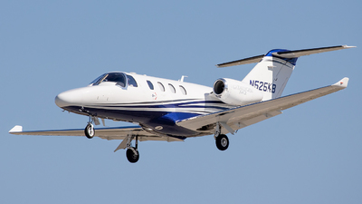 N525KB - Cessna 525 CitationJet M2 - Private