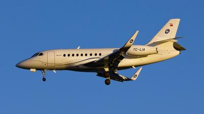 A picture of TCLIA - Dassault Falcon 2000LX - [221] - © Mustafa Sandikci