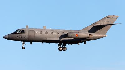 TM.11-3 - Dassault Falcon 20D - Spain - Air Force