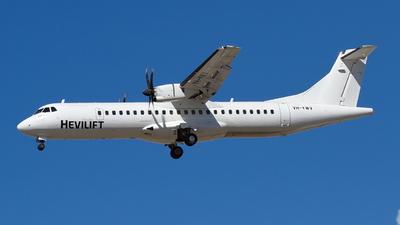 VH-YWV - ATR 72-212A(500) - Hevilift Australia