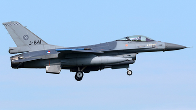 J-641 - General Dynamics F-16AM Fighting Falcon - Netherlands - Royal Air Force