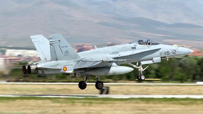 C.15-25 - McDonnell Douglas EF-18M Hornet - Spain - Air Force