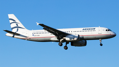 A picture of SXDGD - Airbus A320232 - Aegean Airlines - © Melanie Niedermeier