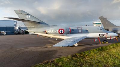 129 - Dassault Falcon 10MER - France - Navy