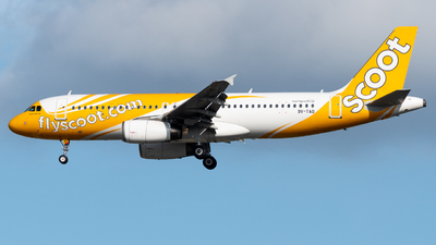A picture of 9VTAO - Airbus A320232 - Scoot - © Kyan Ooi Ting Yi