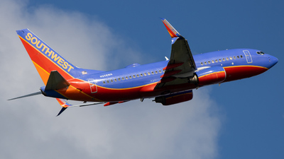A picture of N258WN - Boeing 7377H4 - Southwest Airlines - © Giovanni Segarra Ortiz