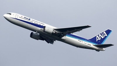 JA605A - Boeing 767-381(ER) - All Nippon Airways (ANA)