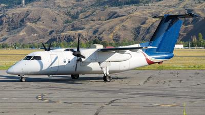 A picture of CFCJE - De Havilland Canada Dash 8100 - Central Mountain Air - © Santiago Arias