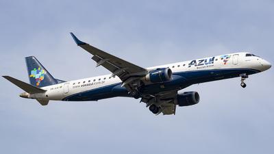 A picture of PRAXI - Embraer E195AR - Azul Linhas Aereas - © Rafael Ferreira