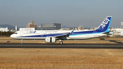 A picture of JA144A - Airbus A321272N - All Nippon Airways - © MAYAH Liner