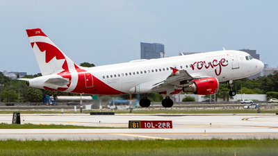 C-GBHY - Airbus A319-114 - Air Canada Rouge