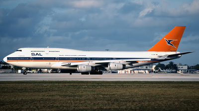 ZS-SAW - Boeing 747-444 - South African Airways