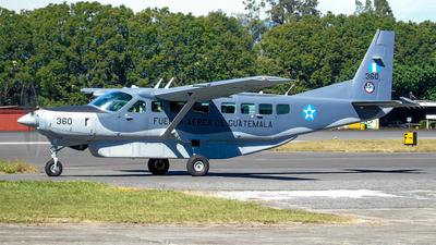360 - Cessna 208B Grand Caravan EX - Guatemala - Air Force