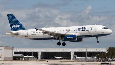 N705JB - Airbus A320-232 - jetBlue Airways