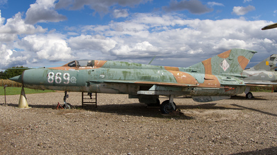 698 - Mikoyan-Gurevich Mig-21 Fishbed - German Democratic Republic - Air Force