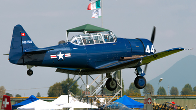 HB-RAJ - North American AT-6 Texan - Private