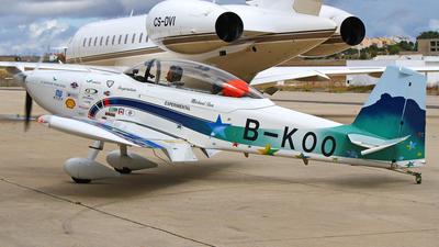 B-KOO - Vans RV-8 - Private