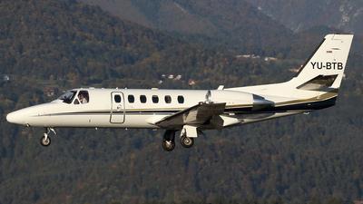 YU-BTB - Cessna 550B Citation Bravo - Private