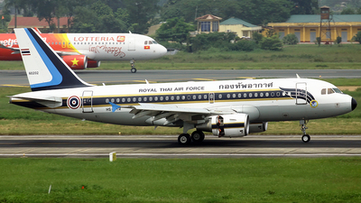 HS-TYR - Airbus A319-115X(CJ) - Thailand - Royal Thai Air Force
