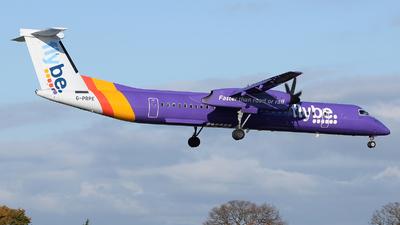 A picture of GPRPE - De Havilland Canada Dash 8400 - Flybe - © David Oates