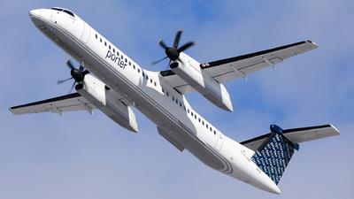 A picture of CFLQY - De Havilland Canada Dash 8400 - Porter Airlines - © Hongyu Wang