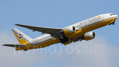 V8-BLC - Boeing 777-212(ER) - Royal Brunei Airlines