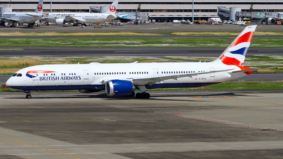 A picture of GZBKN - Boeing 7879 Dreamliner - British Airways - © Tsuyoshi Tsuda