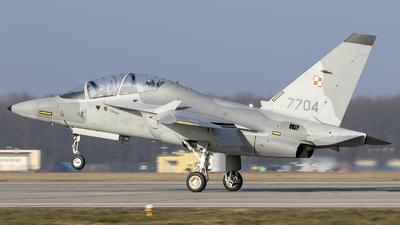 7704 - Alenia Aermacchi M-346 Master - Poland - Air Force