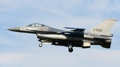 J-020 - General Dynamics F-16AM Fighting Falcon - Netherlands - Royal Air Force