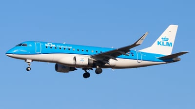 A picture of PHEXO - Embraer E175STD - KLM - © Sebastien David