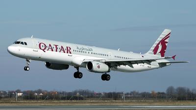 A picture of A7AIC - Airbus A321231 - Qatar Airways - © Marin Ghe.